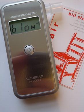 AlcoScan Breathalyser AL7000