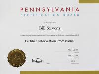 Bill Stevens Certified Intervention Professional